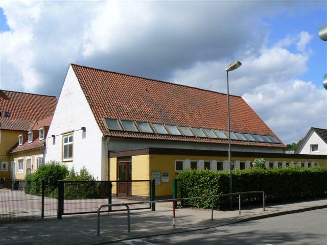 Unsere alte Turnhalle im Juni 2012