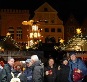 Auf dem Weihnachtsmarkt in Schwerin
