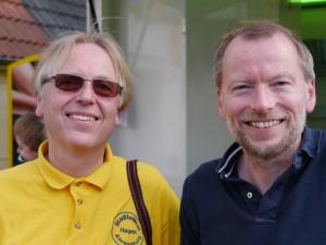 Ragnar Rohweder und Jochen Proske im Gespräch.